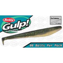 "Berkley Gulp Swimmow 4"" Sardine Softbait"