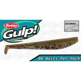 """Berkley Gulp Swimmow 4"""" Banana Prawn Softbait"""