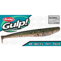 "Berkley Gulp 4"" Swimmow Pepper Prawn Softbait"