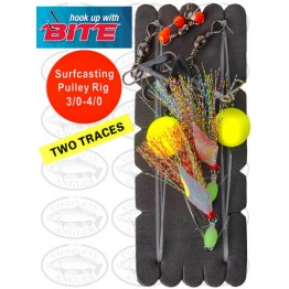 Bite Surfcasting Pulley Rig 3/0 + 4/0