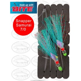 Bite Snapper Samurai Flash Rig 7/0