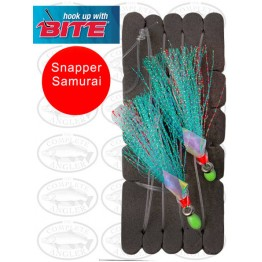 Bite Snapper Samurai Flash Rig 6/0