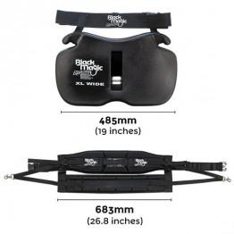 Black Magic Equaliser Fighting Belt & Harness Set - Wide Gimbal / Standard Harness