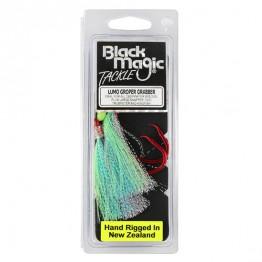 Black Magic Flasher Groper Grabber Blue