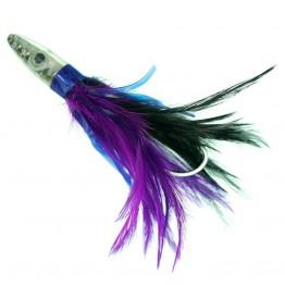 Boone Tuna Treat 17cm Purple Black Rigged Tuna Lure