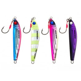 Braid 201 Sailfin 14gr Lumo Zebra Jig
