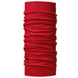 Buff Merino Wool - Red
