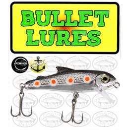 Bullet Lures Five-0 Minnow Sinking Spawning Rainbow Trout