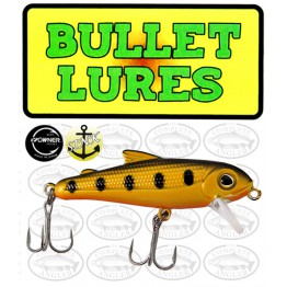 Bullet Lures Five-0 Minnow Sinking Yellow Pearl