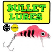 Bullet Lure - Pink Tiger:  Rattle