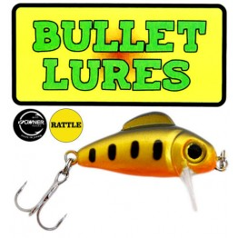 Bullet Lure - Yellow Pearl: Rattle