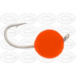 Soft Egg Bright Orange # 8 Nymph Fly