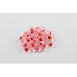 Cleardrift Soft Eggs 8mm Candy Apple Orange Dot
