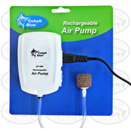 Cobalt Blue Aerator Rechargable Air Pump