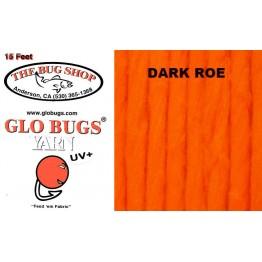 Glo Bug Yarn 15ft Dark Roe Colour