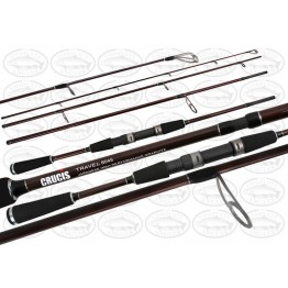 Crucis Travel 8' 4 Piece 3-5kg (8045) Spin Rod