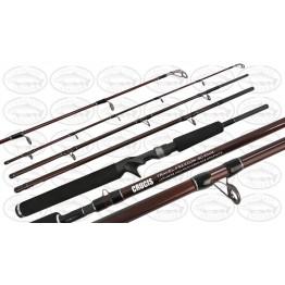 Crucis Travel Freedom BC 604M 6' 4 Pce 5-7kg Overhead Rod