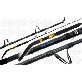 """Daiwa Saltist ST58X 5'6"""" 1 Piece 27-45kg Bent Butt Boat Rod"""
