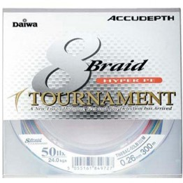 Daiwa Tourn Accudepth Braid 50lb 300m