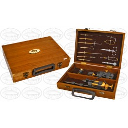 Deluxe Wooden Fly Tying Kit