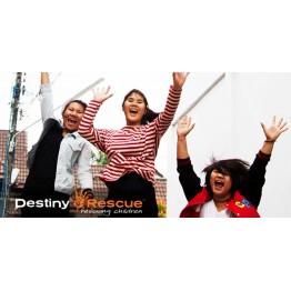 Destiny Rescue $1 Charity Donation
