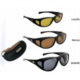Overspex Quadro Polarised Sunglasses - Brown