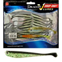 "Dragon V-Lures Drop Shot 3"" D-041 20pcs Mint Softbait"