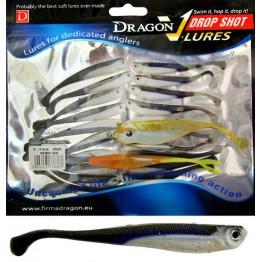 """Dragon V-Lures Drop Shot 3"""" D-016 20pcs Blue Haze Softbait"""