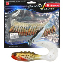 "Dragon V-Lures Hitman 2"" P-BT 20pcs Brown Trout Softbait"