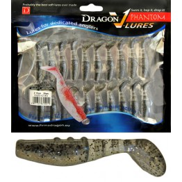 "Dragon V-Lures Phantom 2"" 851 20pcs Pepper Softbait"