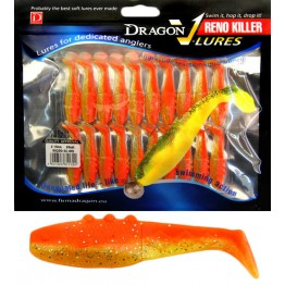 "Dragon V-Lures Reno Killer 2"" 401  20pcs Fanta Softbait"