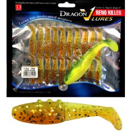 "Dragon V-Lures Reno Killer 2"" 699 20pcs Sunshine Softbait"