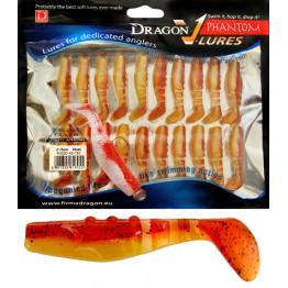 """Dragon V-Lures Phantom 2"""" 750 20pcs Blood Orange Softbait"""