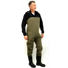 Dryline Xtreme Chest Waders 5mm Olive