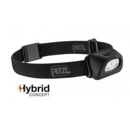 Petzl Tactikka + 250 Lumens Headlamp - Black