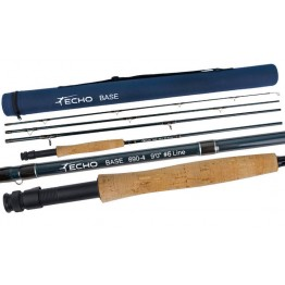 Echo Base #6 9' 4 pc Medium/Fast Fly Rod