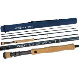 Echo Base #8 9' 4 pc Medium/Fast Fly Rod