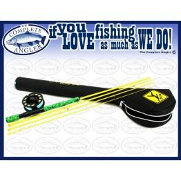 "Echo Gecko Youth Fly Rod Kit: #4/5 7'9"" 4 pc"