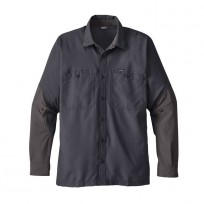 Patagonia Men s Lightweight Field Shirt - Forge Grey