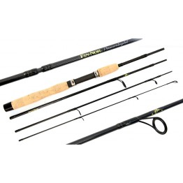 """Fin-Nor Spin Set 6'6"""" Four Piece Rod & 2000 Size Reel"""