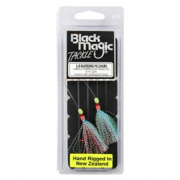 Black Magic Flasher Bleeding Pilchard 1/0