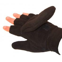 Polarfleece Flip Top Fingerless Gloves