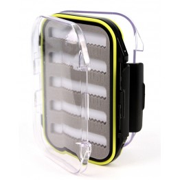 Stalker Tackle Waterproof Transparent Fly Box Small