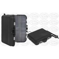 Marston FATB409 Fly Box - Compartment Black