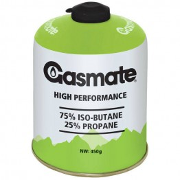 Gasmate Gas - 450g Butane Gas Canister