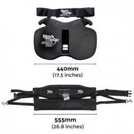 Black Magic Equaliser Fighting Belt & Harness Set - Junior