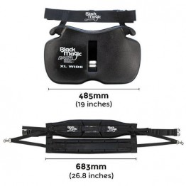 Black Magic Equaliser Fighting Belt & Harness Set - Wide