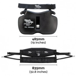 Black Magic Equaliser Fighting Belt & Harness Set - XL Wide