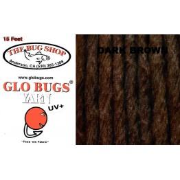 Glo Bug Yarn 15ft Dark Brown Colour