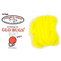 Glo Bug Yarn 15ft Chartreuse Colour